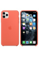 Apple Apple iPhone 11 Pro Max Silicone Case - Clementine (Orange)