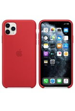 Apple Apple iPhone 11 Pro Max Silicone Case - RED