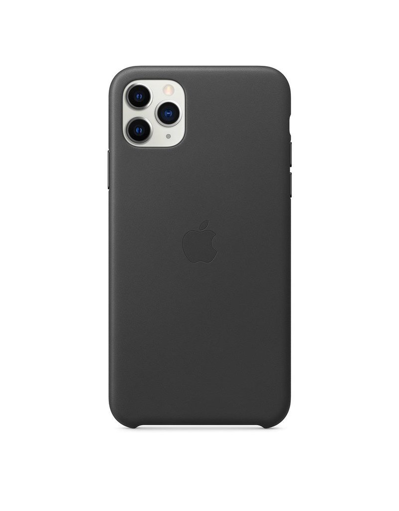 Apple Apple iPhone 11 Pro Max Leather Case - Black