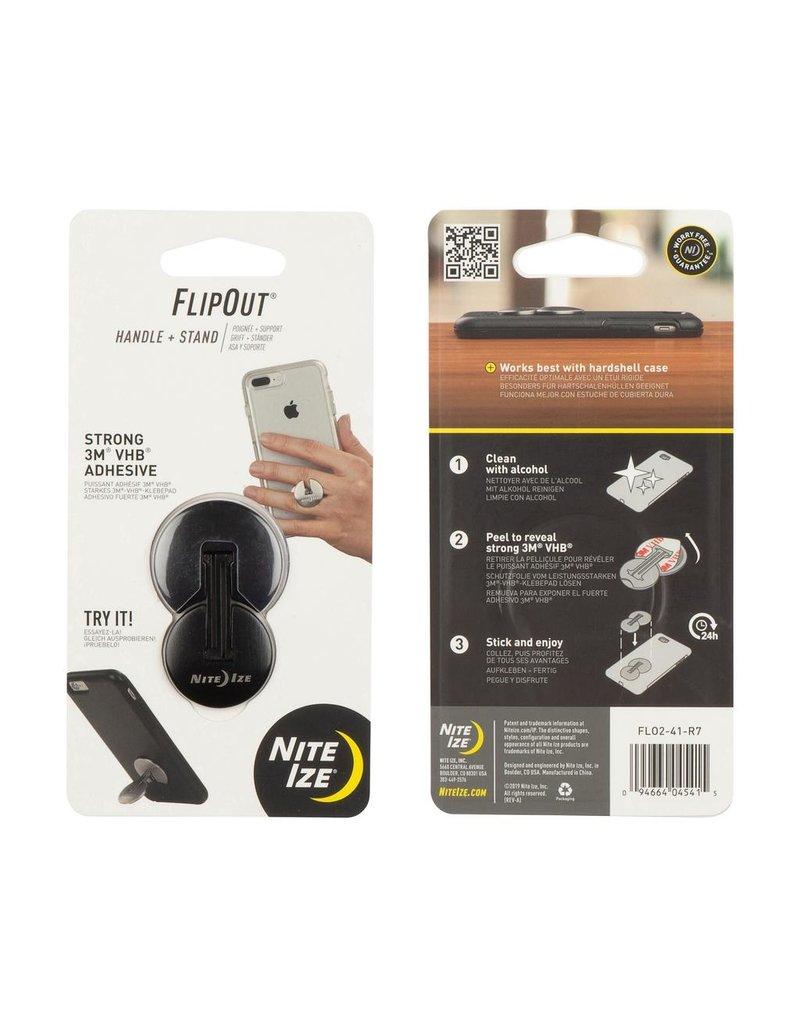Nite Ize Nite Ize Steelie FlipOut Device Stand and Grip - Black