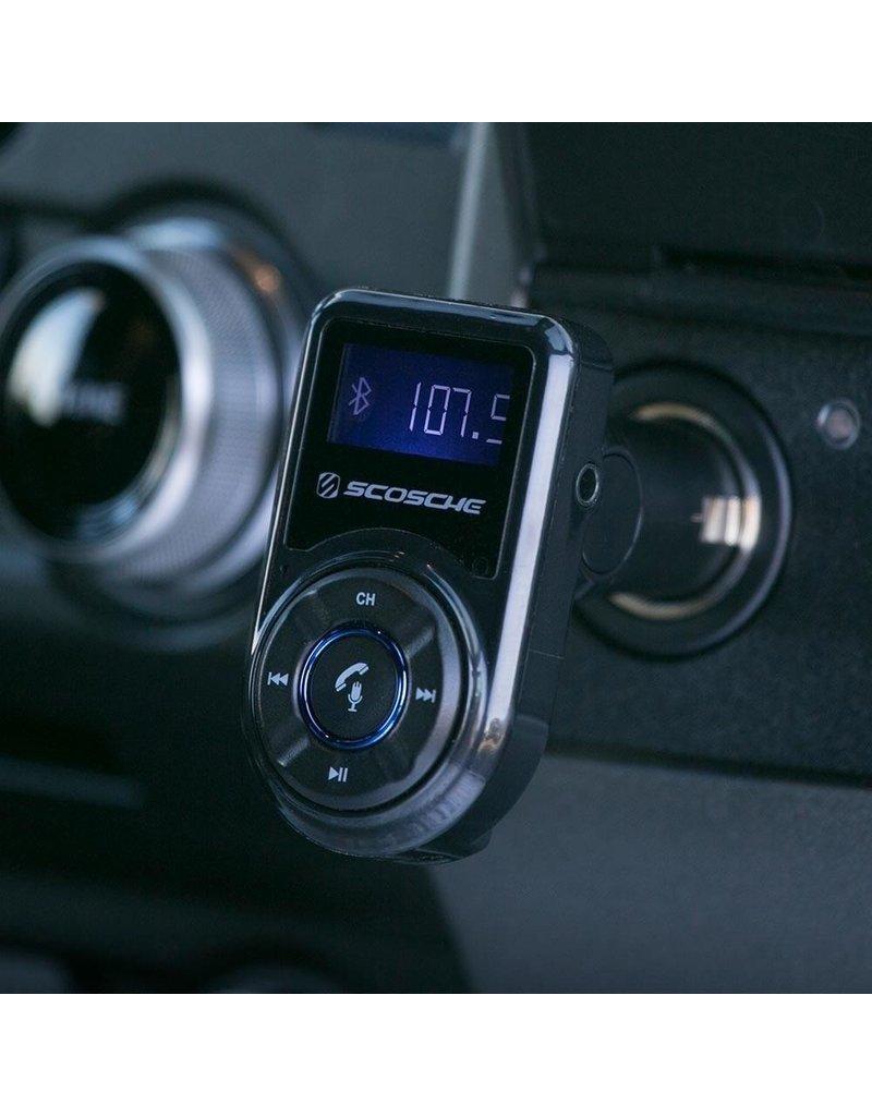 Scosche Scosche Bluetooth FM Transmitter for Mobile Device- Black