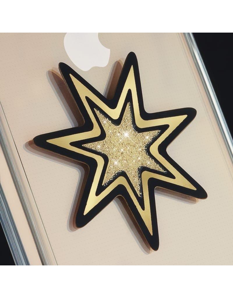 Case Mate Case Mate Car Charms Magnetic Vent Mount Kit - Gold Starburst