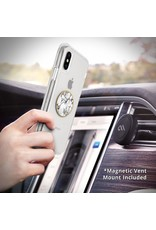 Case Mate Case Mate Car Charms Magnetic Vent Mount Kit - White Marble