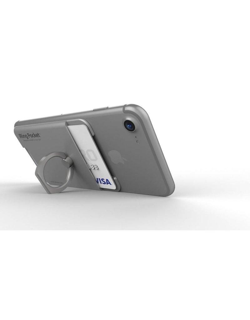 iRing iRing Pocket Card Holder / Portable Stand - Silver