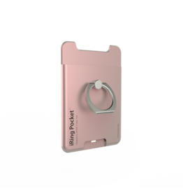 iRing iRing Pocket Card Holder / Portable Stand - Rose Gold