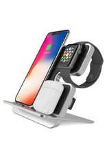 iComboStand Pro 4-in-1 Ultimate Wireless Charging Station - Space Gray