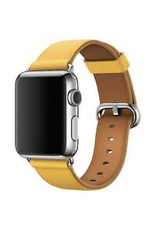 Apple APPLE WATCH CLASSIC BUCKLE 316L STAINLESS STEEL BUCKLE 42MM - MARIGOLD LEATHER