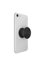 PopSockets PopSockets PopGrips Swappable Twist Aluminum Premium Device Stand and Grip - Black