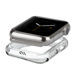 Case-Mate - Tough Clear Bumper Case for Apple Watch 42mm / 44mm - Clear