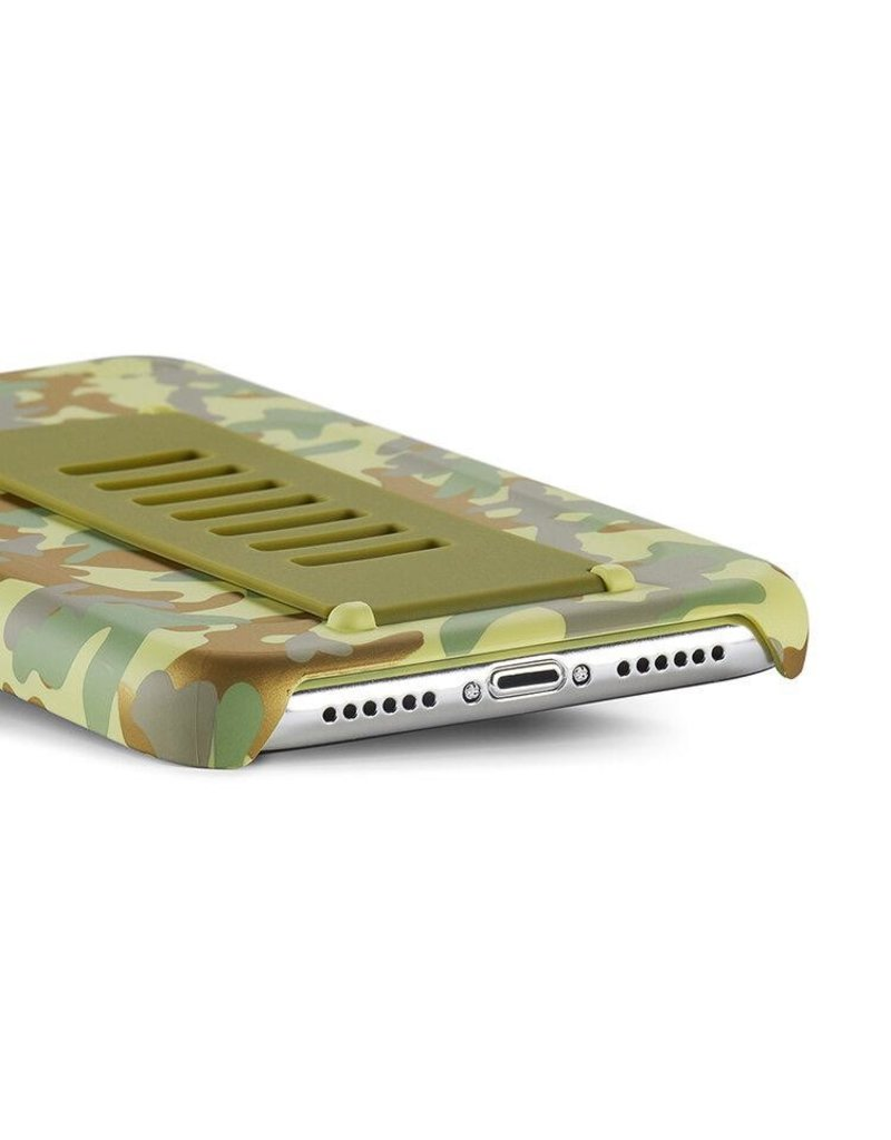 Grip2u Grip2u Slim Multiple Hand Grip Case for iPhone 11 - West Point Metallic