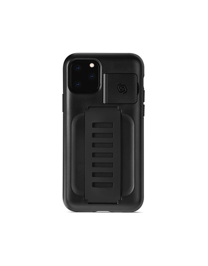 Grip2u Grip2u Boost Hand Grip with Kickstand Case for iPhone 11 Pro - Charcoal
