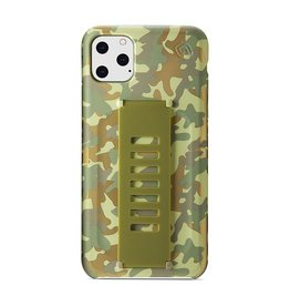 Grip2u Grip2u Slim Multiple Hand Grip Case for iPhone 11 Pro Max - West Point Metallic