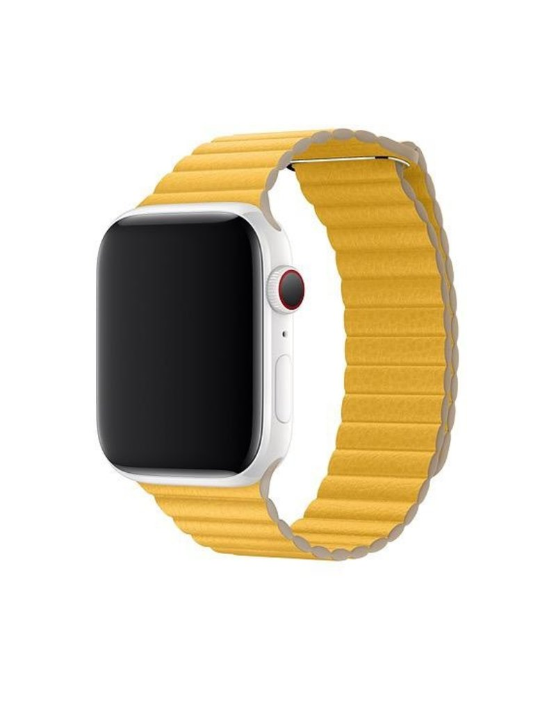 Apple Apple Watch Leather Loop Medium 42/44mm - Meyer Lemon