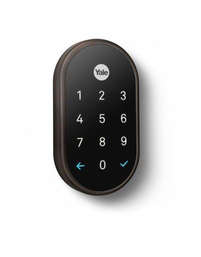 Nest Google Nest Yale Smart Door Lock - Black