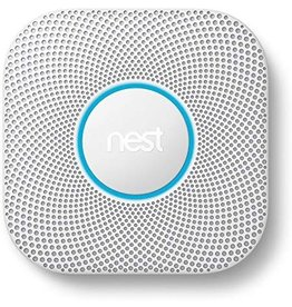 Nest Google Nest 2nd Gen Protect Smoke And Carbon Monoxide batteries - White- White