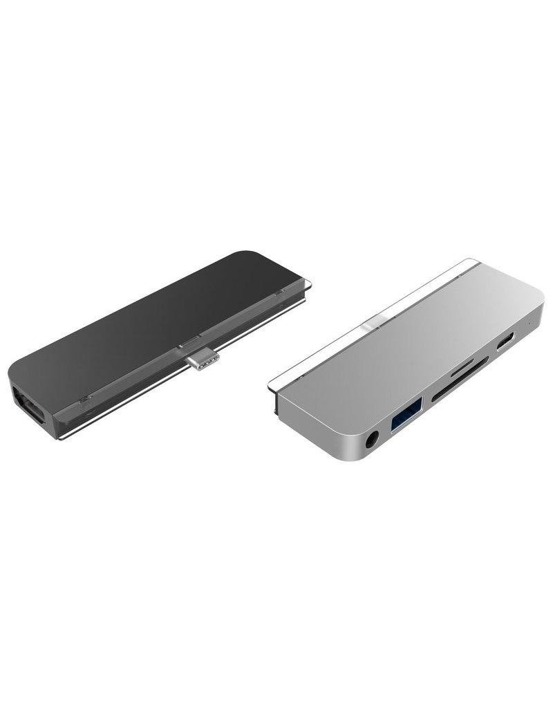 Hyper HyperDrive++ 6-in-1 USB-C Hub for iPad Pro 3rd-Gen -  Sliver