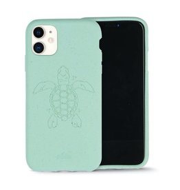 Pela Pela Eco Friendly Case for Apple iPhone 11 - Ocean Turquoise Turtle Edition