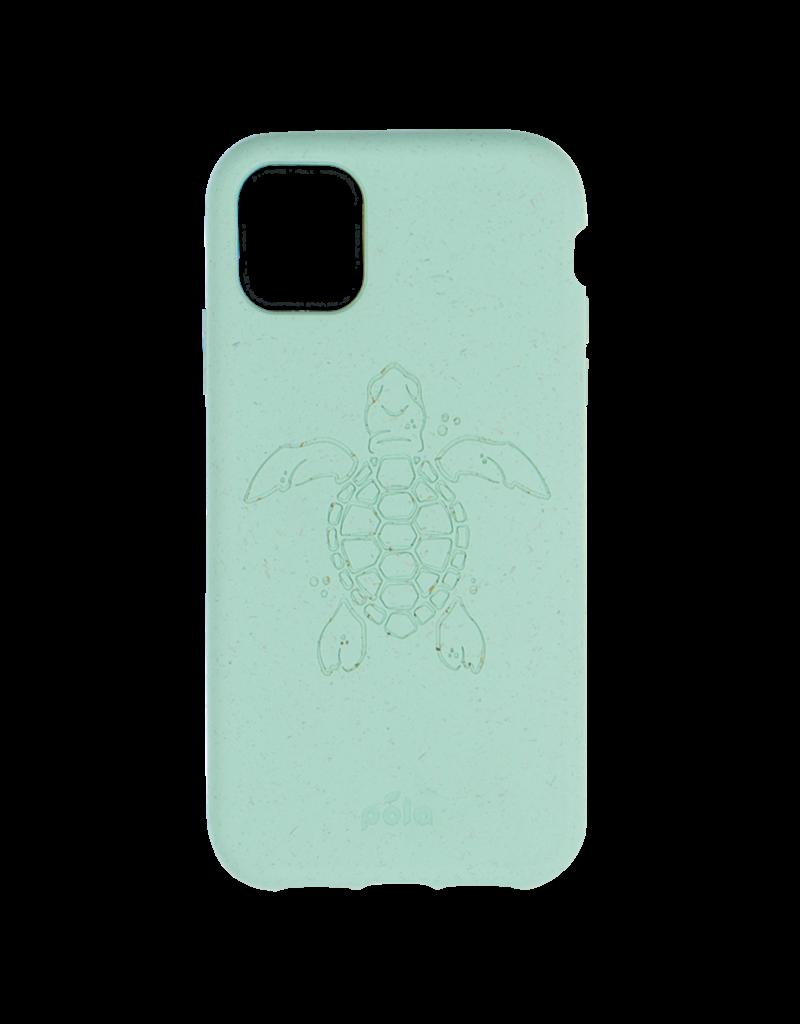 Pela Pela Eco Friendly Case for Apple iPhone 11 - Ocean Turquoise Turtle Edition