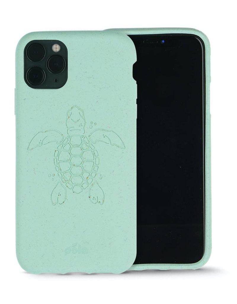 Pela Pela Eco Friendly Case for Apple iPhone 11 Pro - Ocean Turquoise Turtle Edition
