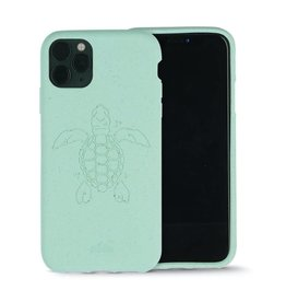 Pela Pela Eco Friendly Case for Apple iPhone 11 Pro Max - Ocean Turquoise Turtle Edition