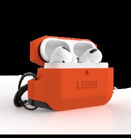 UAG Urban Armor Gear (UAG) Silicone Case for Apple Airpods Pro - Black/Orange