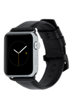 Case Mate Case Mate Signature Leather Watchband for Apple Watch 42mm / 44mm - Black