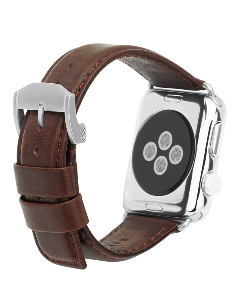 Case Mate Case Mate Signature Leather Watchband for Apple Watch 42mm / 44mm - Tobacco