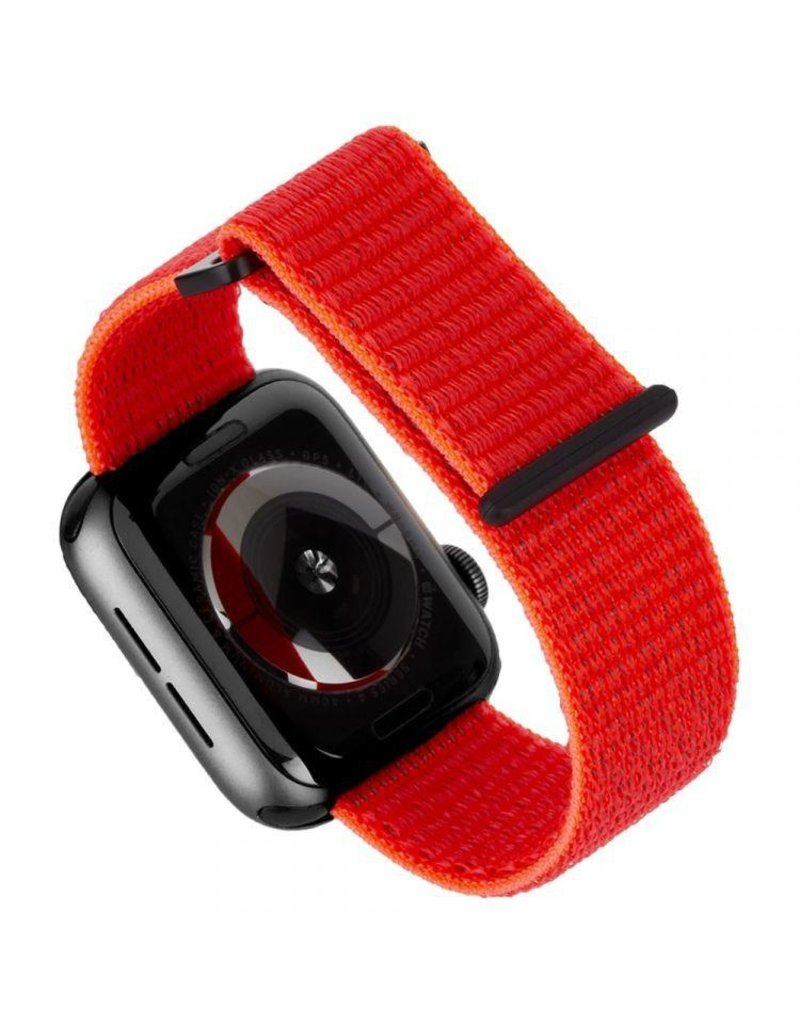 Case Mate Case Mate Nylon Watchband for Apple Watch 42mm / 44mm - Reflective Neon Orange