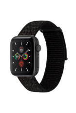 Case Mate Case Mate Nylon Watchband for Apple Watch 38mm / 40mm - Mixed Metallic Black