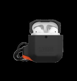 UAG Urban Armor Gear (UAG) Silicone Case for Apple AirPods 1/2 - Black/Orange