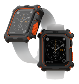 UAG Urban Armor Gear (UAG) Apple Watch Case for Apple Watch 44 MM - Black and Orange
