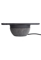 TYLT TYLT Twisty 360 Wireless Charging Pad and Stand 10W - Charcoal and Gray