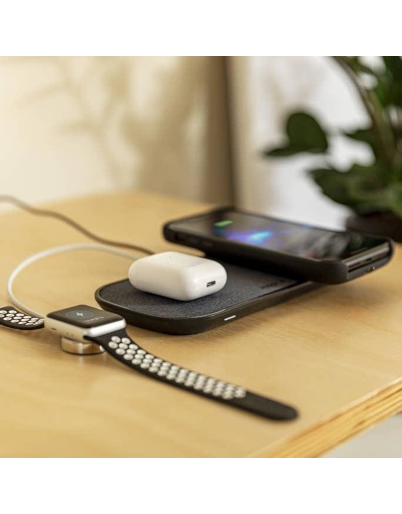 Mophie Mophie Dual Wireless Charging Pad with Type A Output 10W - Black