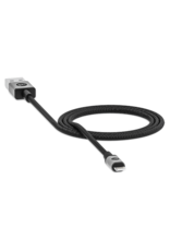 Mophie mophie - Type A to Apple Lightning Cable 3ft - Black