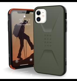 UAG Urban Armor Gear (UAG) - Civilian Case for Apple iPhone 11 - Olive Drab