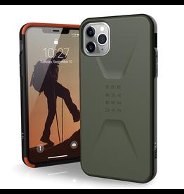 UAG Urban Armor Gear (UAG) - Civilian Case for Apple iPhone 11 Pro - Olive Drab