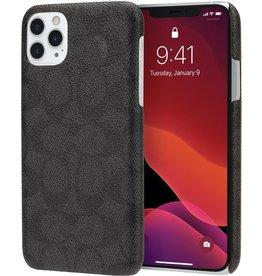 COACH Coach Slim Wrap Case for Apple iPhone 11 Pro Max - Signature C Black