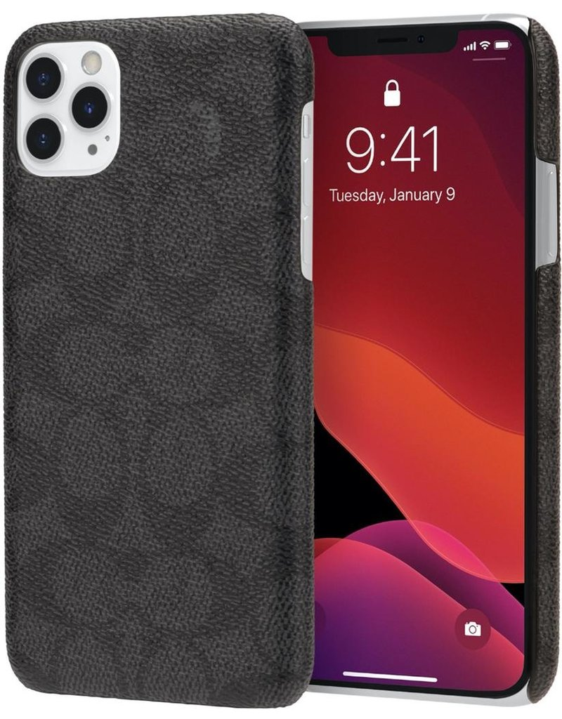 COACH Coach Slim Wrap Case for Apple iPhone 11 Pro Max - Signature C Black