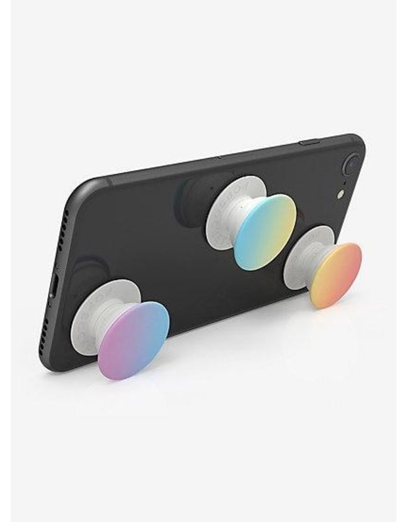 PopSockets PopSockets PopMinis Device Stand and Grip Three Pack - Misty Rainbow