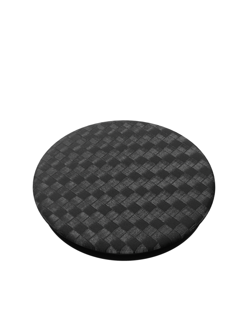 PopSockets PopSockets PopGrips Premium Swappable Device Stand and Grip - Carbonite Weave