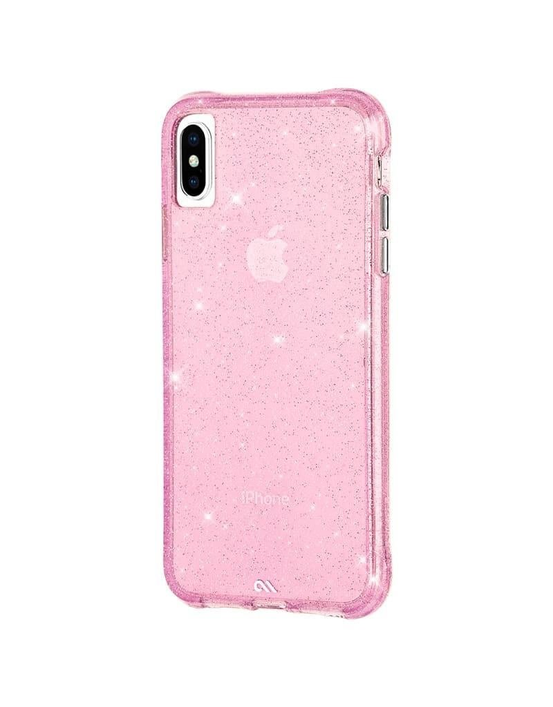 Case Mate Case Mate Sheer Crystal Case for Apple iPhone Xs Max - Blush