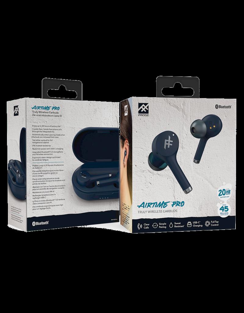 iFrogz iFrogz Airtime Pro True Wireless In Ear Bluetooth Earbuds - Blue