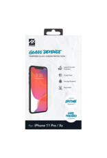 iFrogz iFrogz Glass Defense Glass Screen Protector for Apple iPhone 11 Pro / Xs / X- Clear