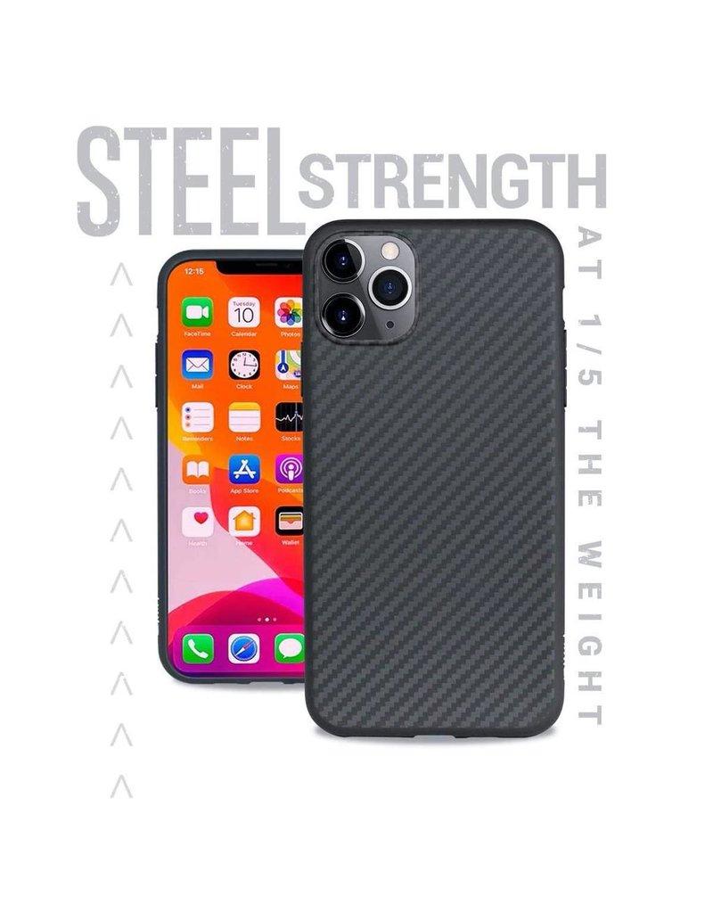 Evutec Evutec Aer Karbon Series With Afix Case for iPhone 11 Pro - Black