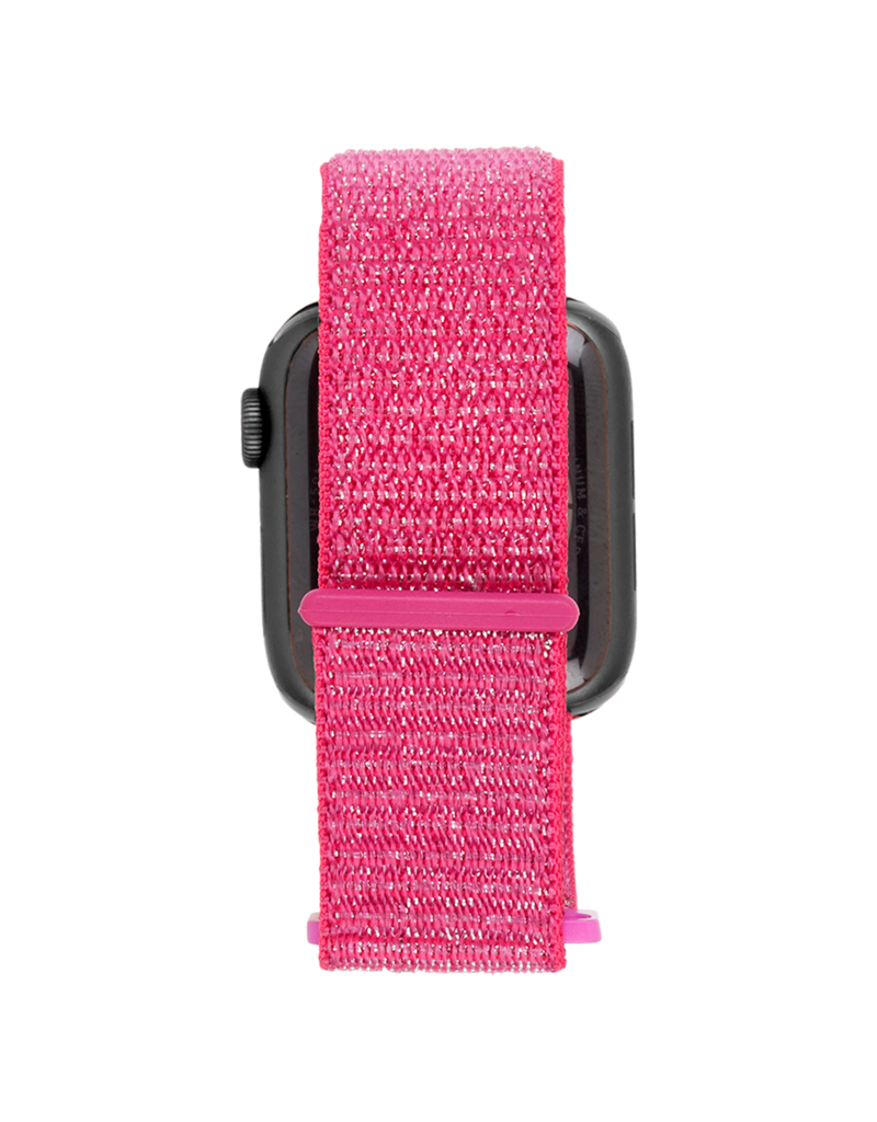 Case Mate Case Mate Nylon Watchband for Apple Watch 38mm / 40mm - Metallic Pink