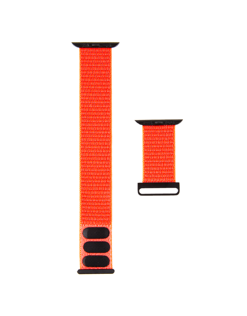 Case Mate Case Mate Nylon Watchband for Apple Watch 38mm / 40mm - Reflective Neon Orange