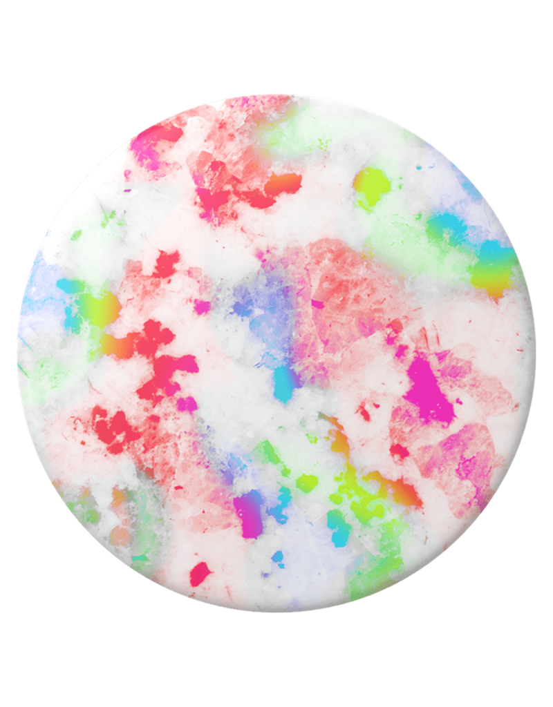 PopSockets PopSockets PopGrips Abstract Swappable Device Stand and Grip - Rainbow Granite