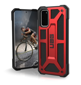 UAG Urban Armor Gear (UAG) Monarch Case for Samsung Galaxy S20 Plus - Crimson