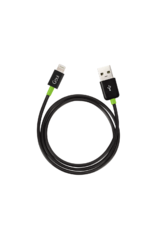 Goui Goui Classic Lightning to USB Cable - Black/Green