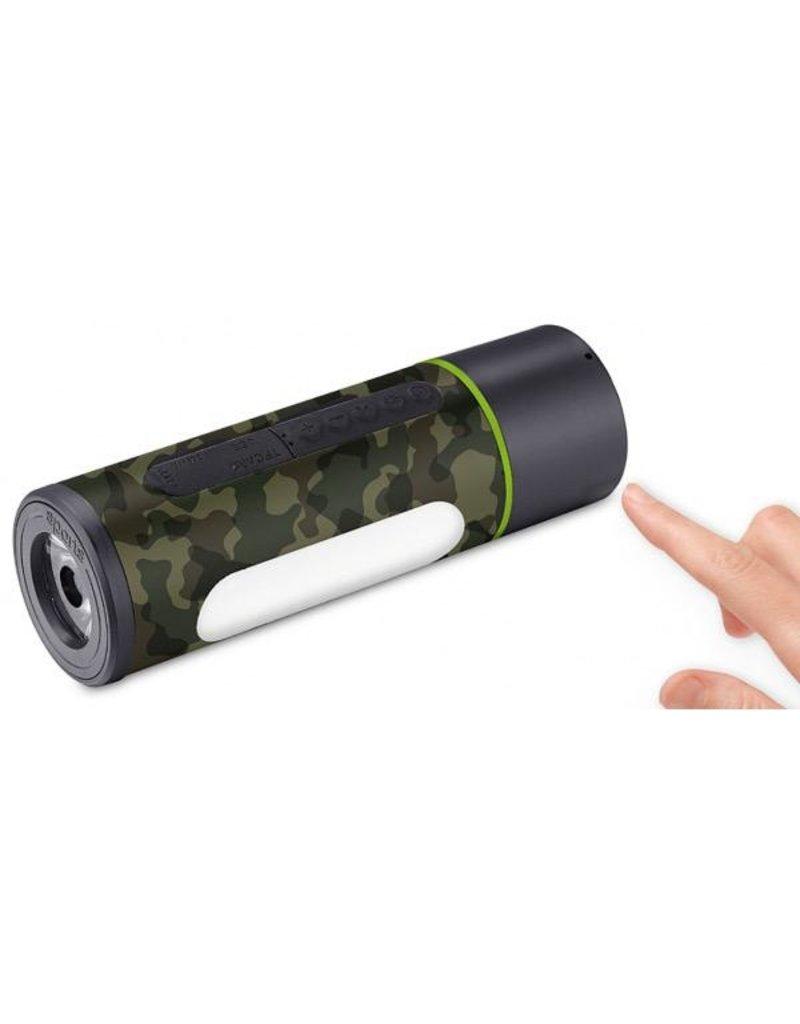 Goui Goui Max Ultra Fast Charging Power Bank 5'200mAh / Light /Speaker - Camo